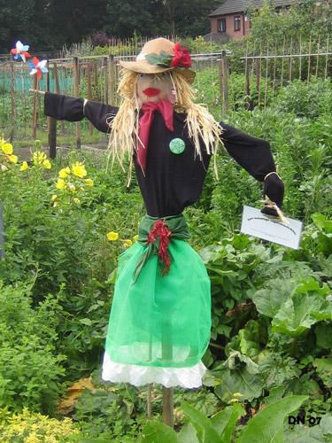 Doris, Sparrow Lane Allotments 2007