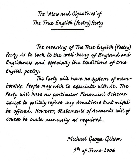 TTE(P)P Statement